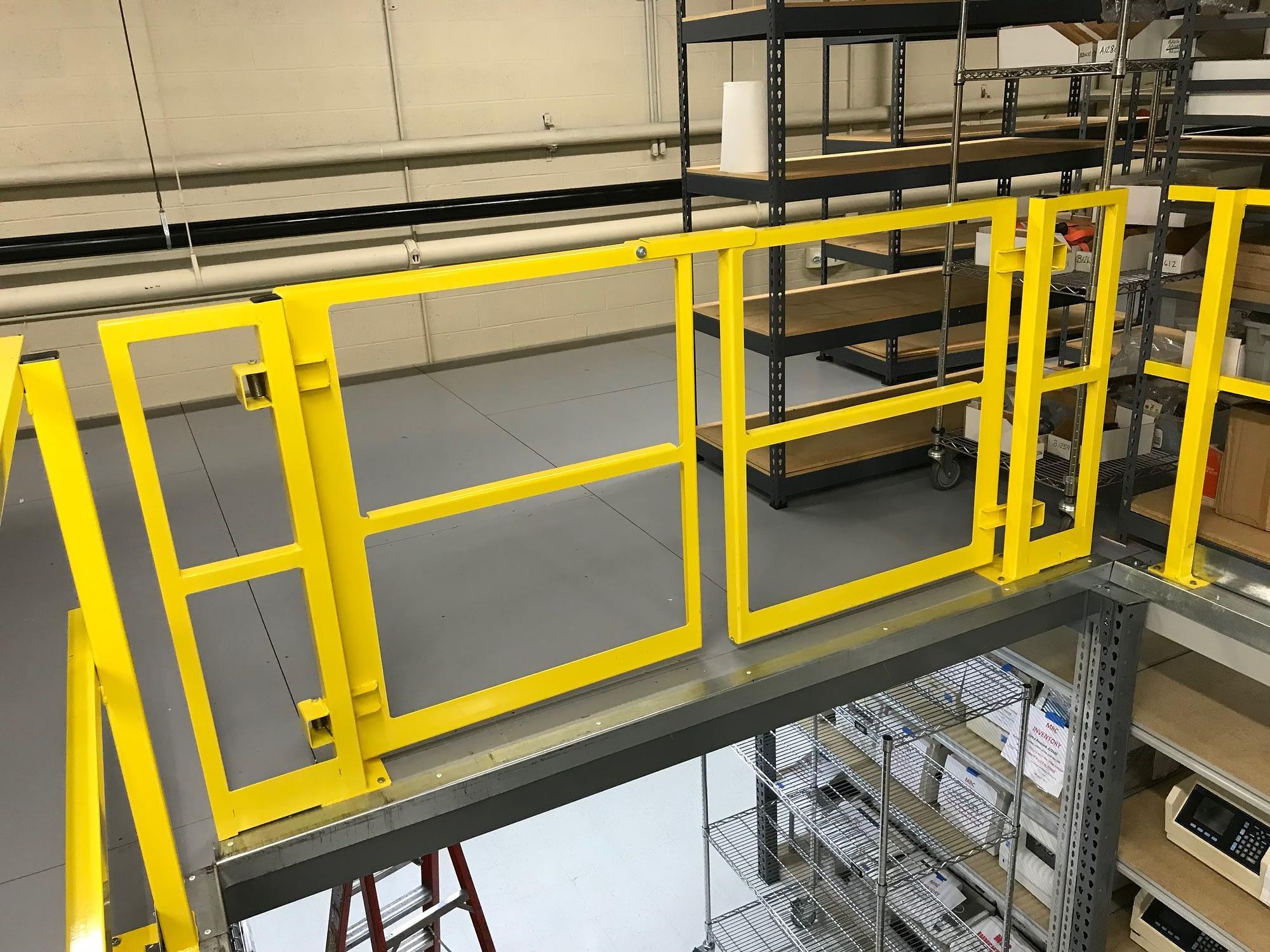 Mezzanine Gates & Handrails