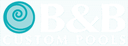 B&B Custom Pools Logo