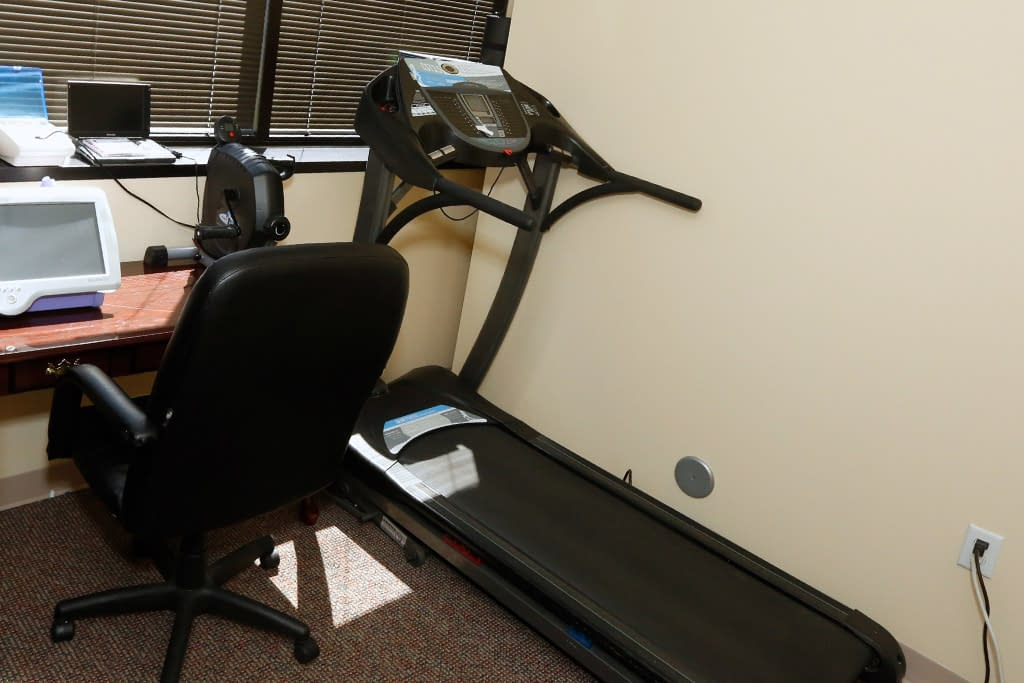 Medical Office With Treadmill