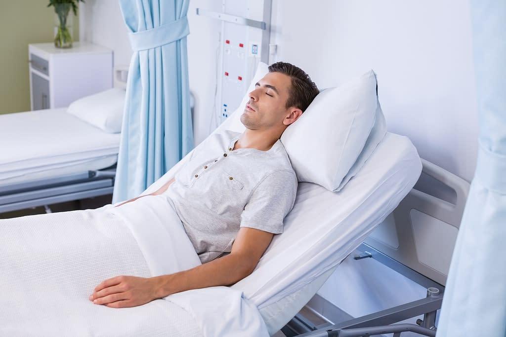 Patient sleeping- Somerset, NJ- Brunswick Pulmonary & Sleep Medicine