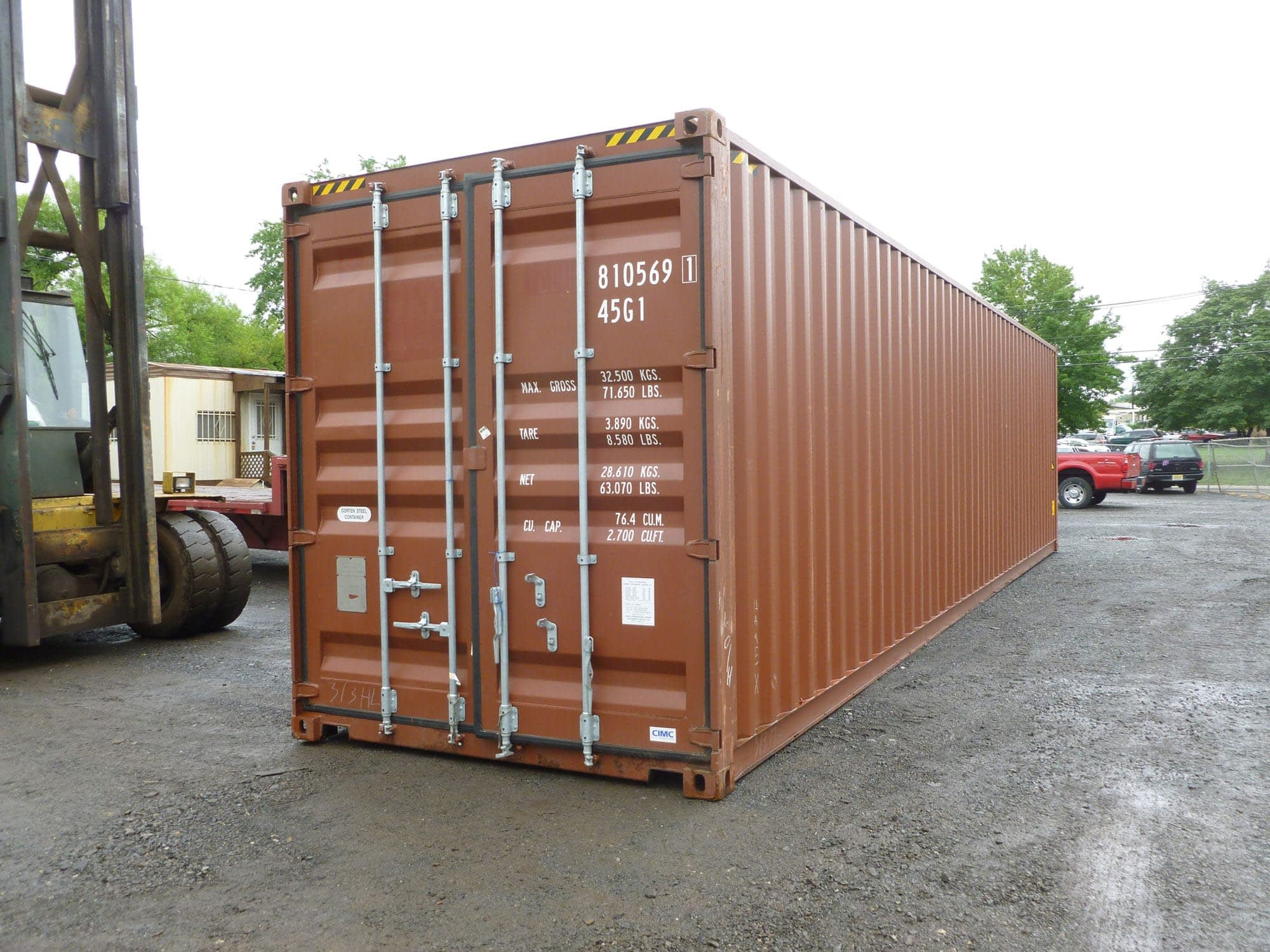 TRS Grade A Used 40ft long highcube container