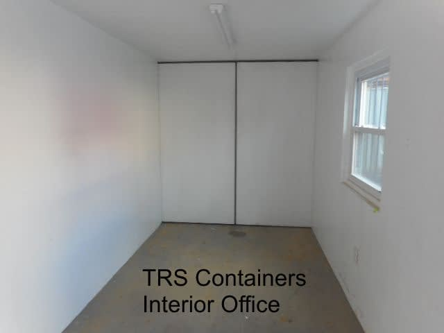 TRS modified steel container office