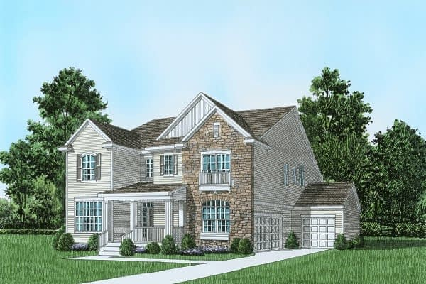 Plan 3 Traditional Home Easton, PA