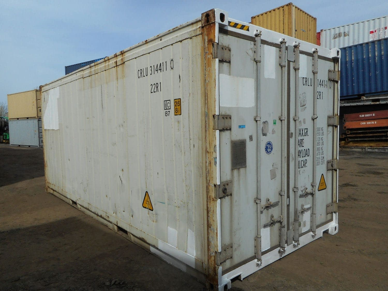 TRS sells and rent Reefers + Insulated Containers