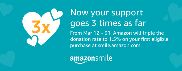 Wonderful News for Amazon Smile First Time Users!!