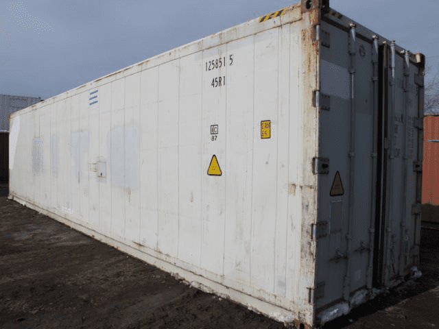 TRS Containers sells rents and modifies former refrigeration containers that help provide temperature control