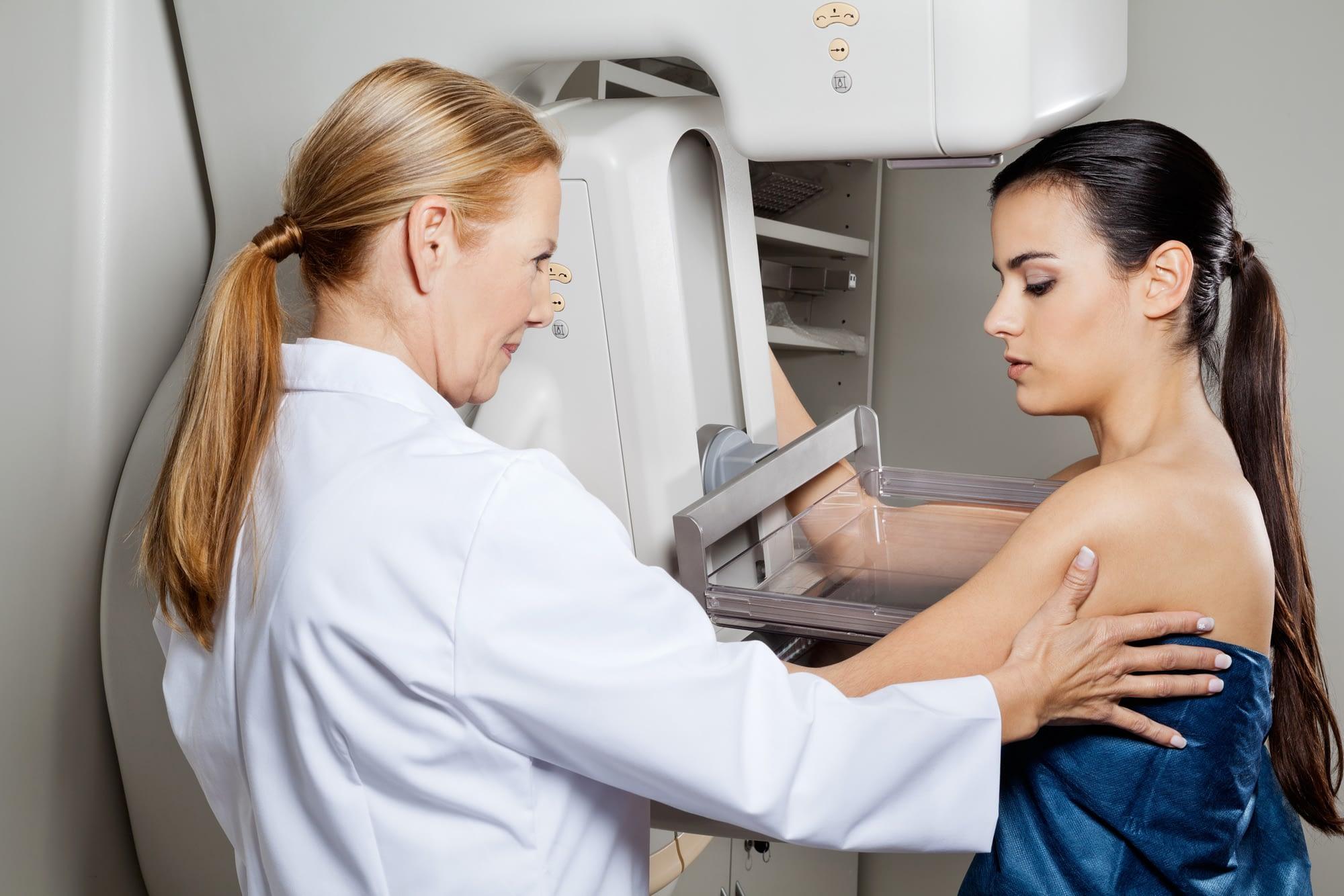 mammogram with implants