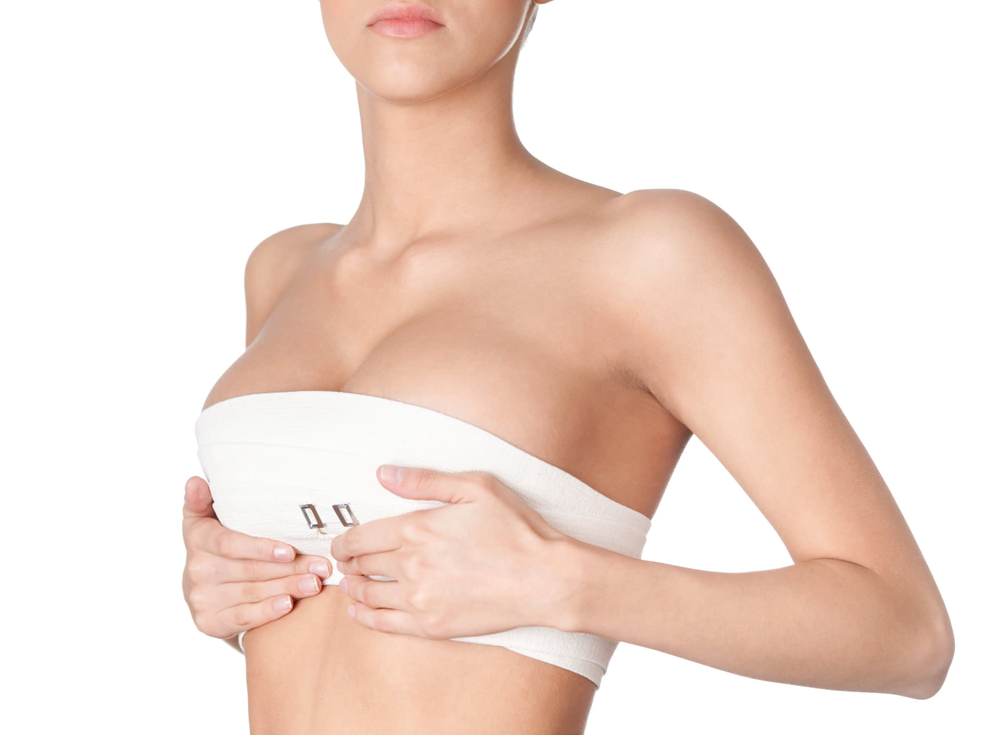 breast reduction scar