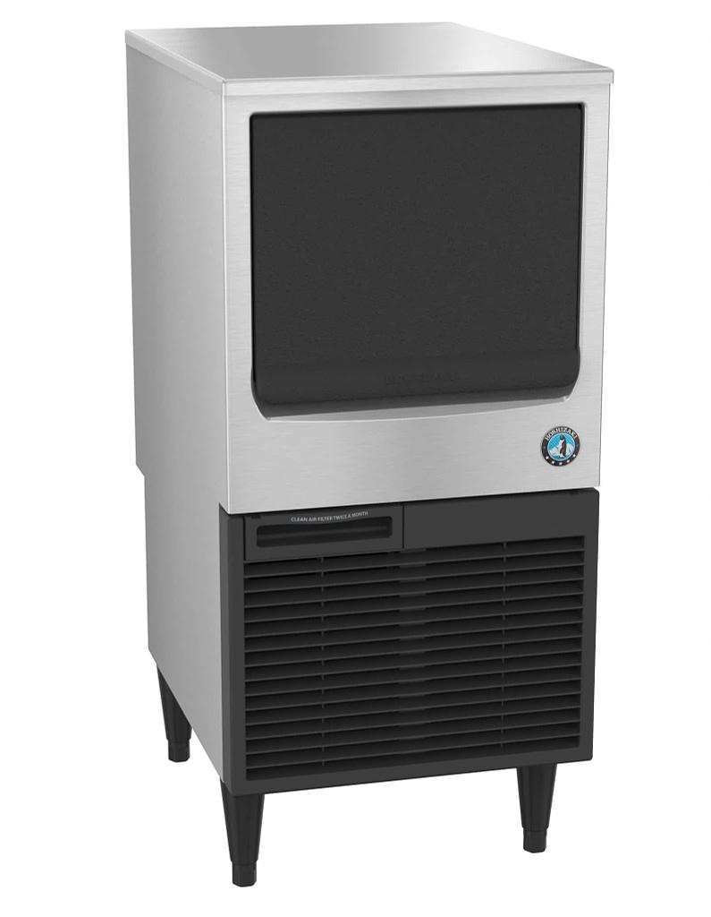 Hoaki Km 80baj Crescent Cuber Ice Maker Air Cooled Built In Storage Bin