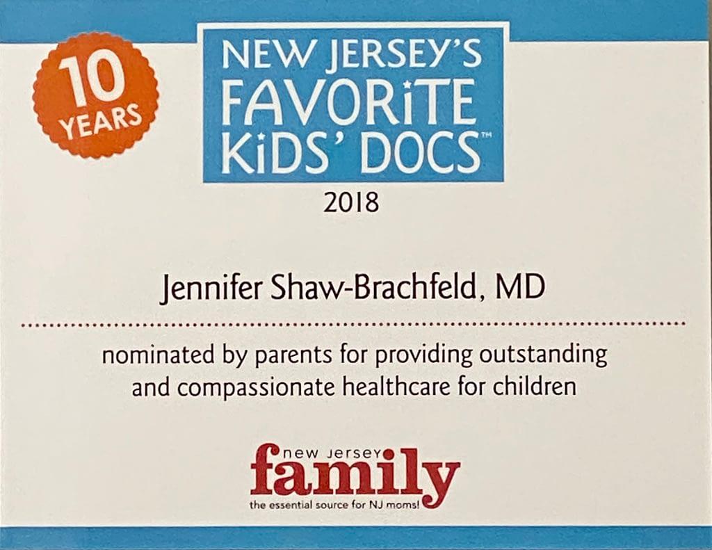 New Jersey Family's Favorite Kids' Doc