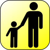 Parent and child icon