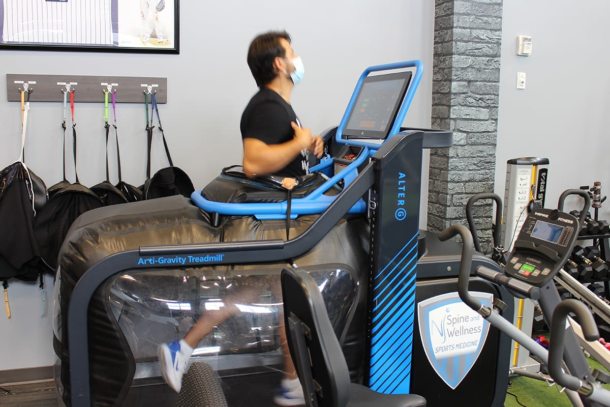 Anti Gravity Treadmill Physical Therapy