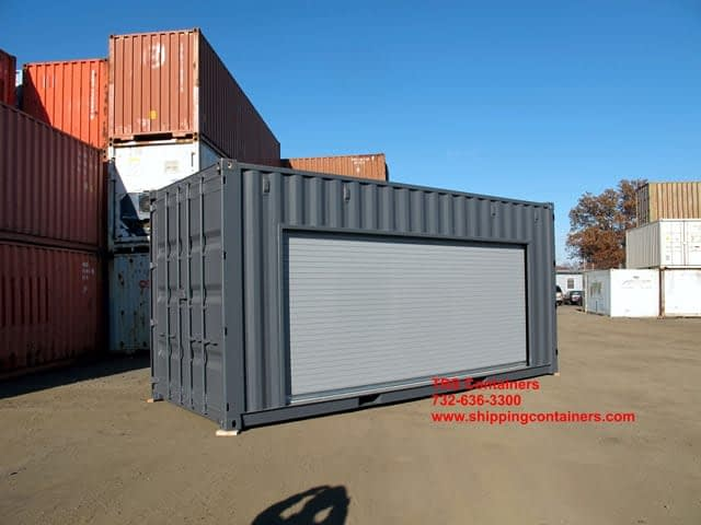 TRS Containsers installs roll up doors that have remote controls