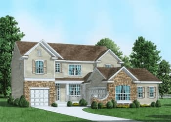 Plan 2 Traditional Home in Easton, PA