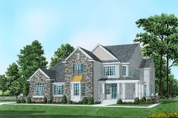 Drawing of Fairway Model Single Family Home