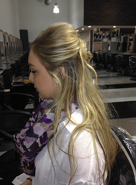 Second-day hair styling tips from the experts at Gene Juarez Academy cosmetology school in Seattle, Washington. It's like a free class at the hair school!