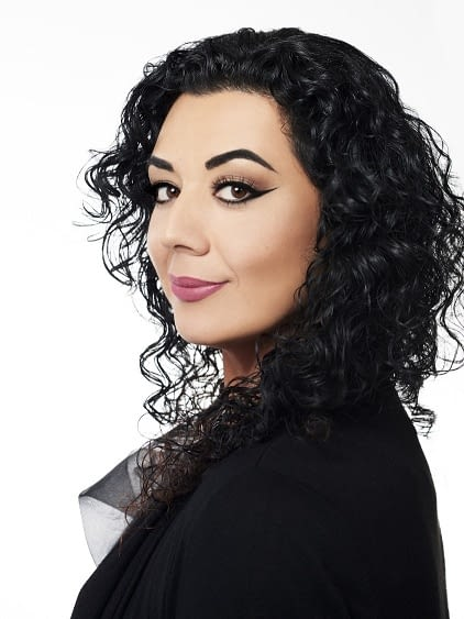Nicole Aguilar, Lead Makeup Artistry educator at Bellus Academy in Poway.