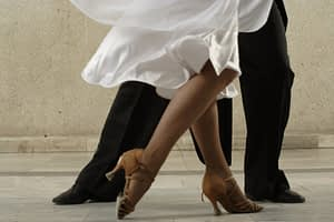 Dancing Couple's Feet - Lawrenceville, NJ - Arthur Murray Dance Studio