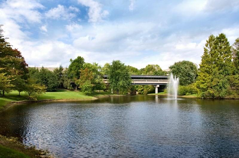 Lake and Bridge