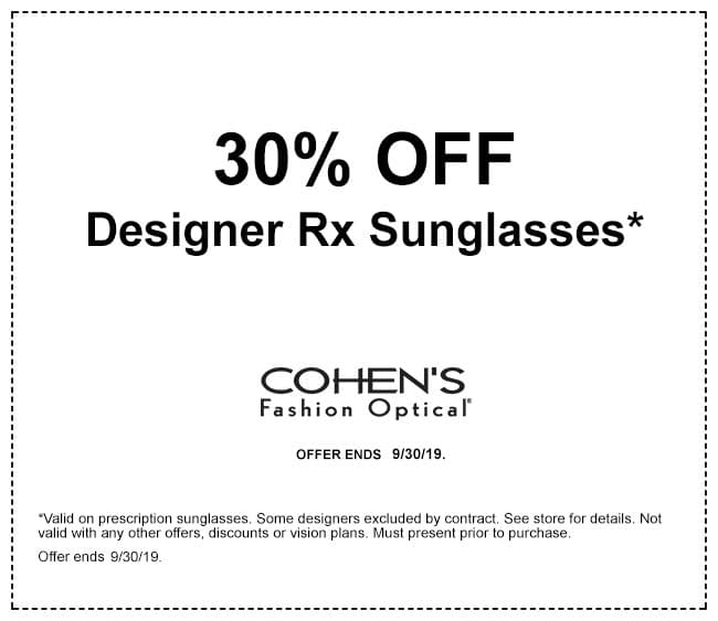 Offers   Cohen's Fashion Optical