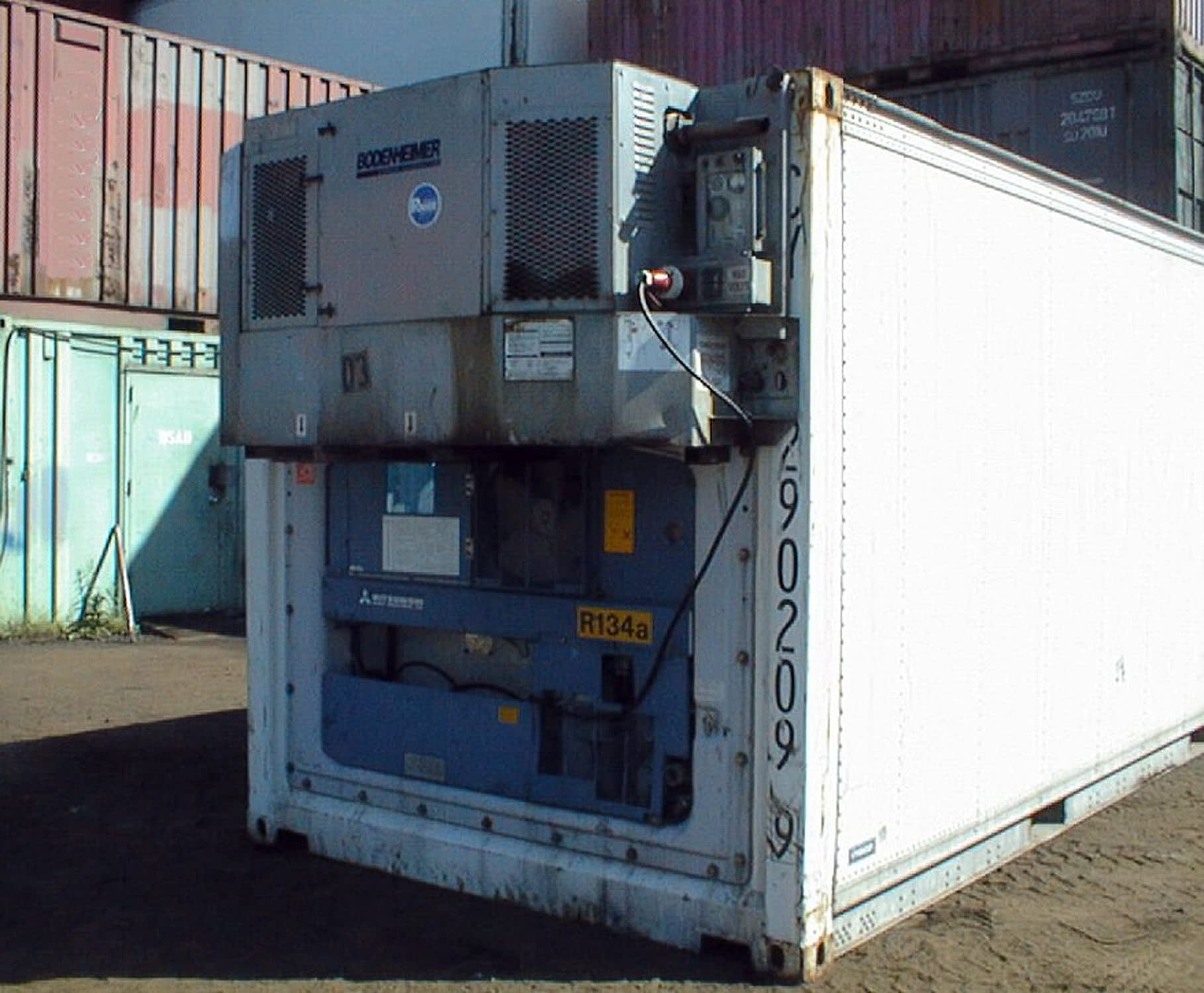 TRS sells TRS rents diesel gensets to power reefer containers while on the road or ocean.