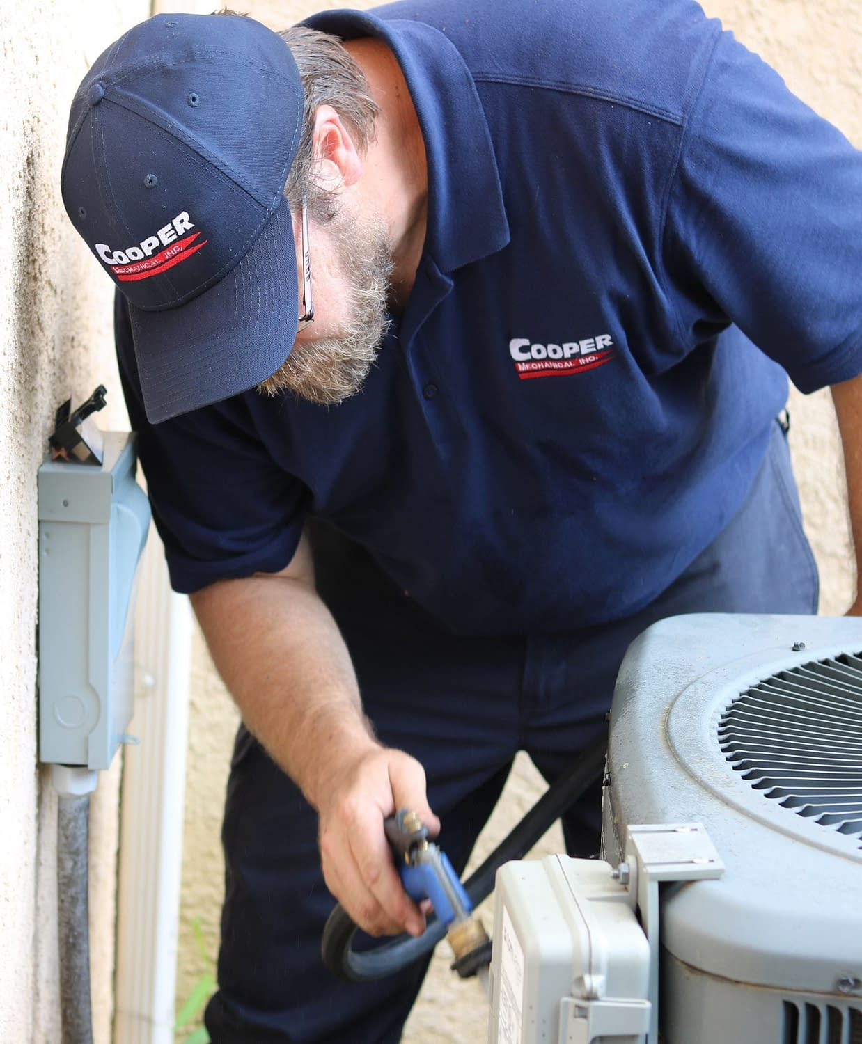 Performing Preventative Maintenance on a Compressor