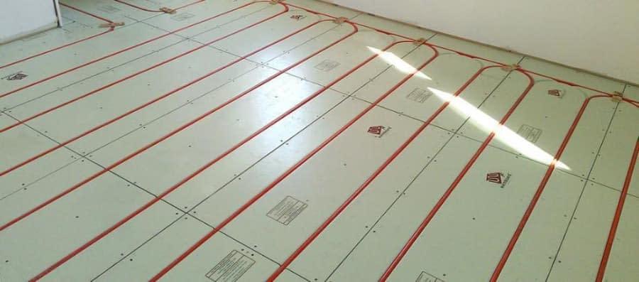Radiant Heat System Installation Process