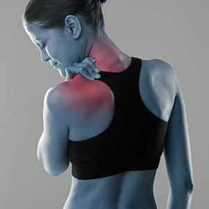 Representation of Woman Experiencing Shoulder Instability