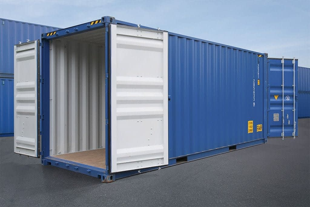 TRS Containers offers new double door containers and fabricated used doubledoor containers
