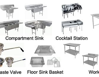 Ware Washing-Sinks-Tables