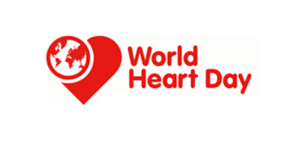 World Heart Day is September 29th