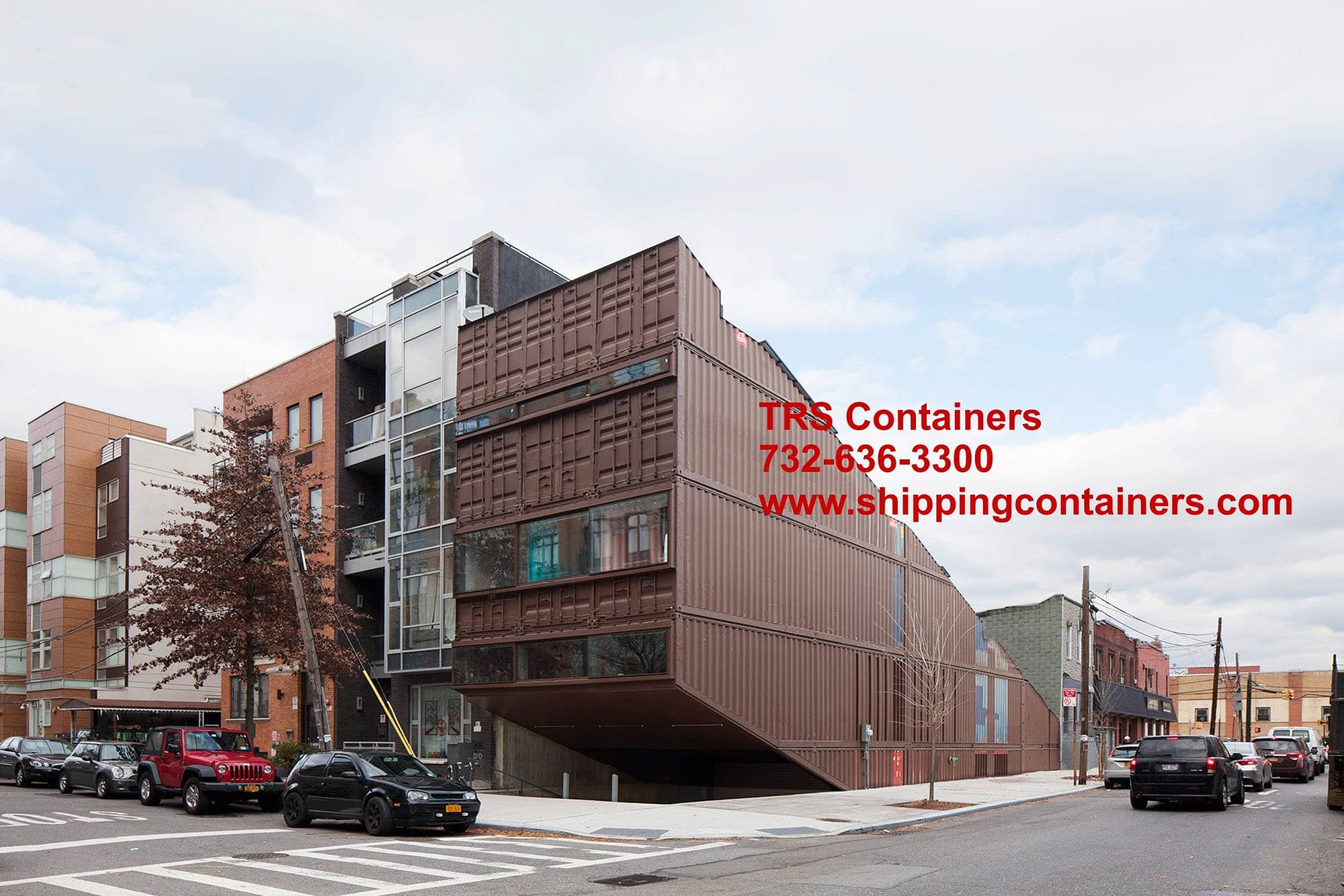 TRS Containers can work with your architect and GC to construct a container house