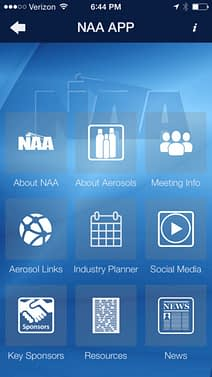 National Aerosol Association Launches New APP