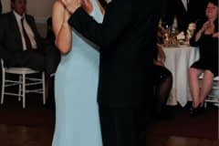 Mother and Son on a Dance Floor