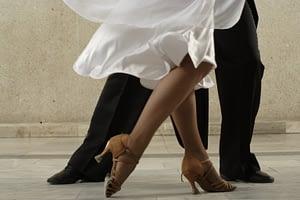 Dancing Couple's Feet - Lawrenceville, NJ - Arthur Murray Dance Studio