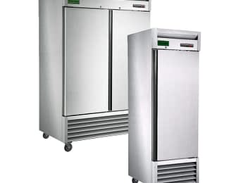 Reach In Refrigerators and Freezers