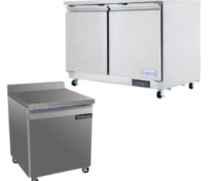 Undercounter and Work Top Refrigeration