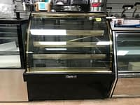 "Pre-owned Leaders MCB48 S/C 48"" Bakery Display Case-Curved Glass"