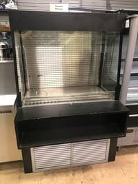 "Pre-Owned Federal Industries 42"" W Open Display Case"