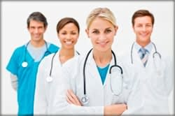 Group Of Healthcare Providers