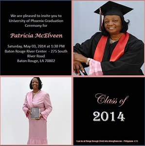 McElveen Graduation Announcement