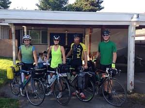 West Coast Cycle for Myocarditis team