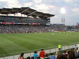 Denver Rapids Pro Soccer Game