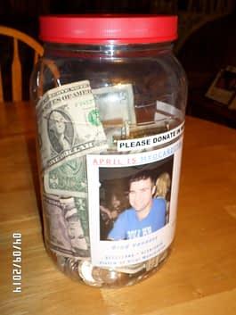 April Awareness Donation Jar