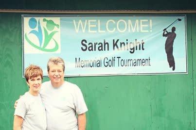 Greg and Susan Knight, Sarah's parents