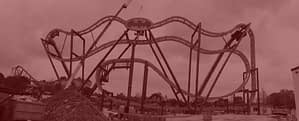 K & G Roller Coaster Construction - Batman Roller Coaster