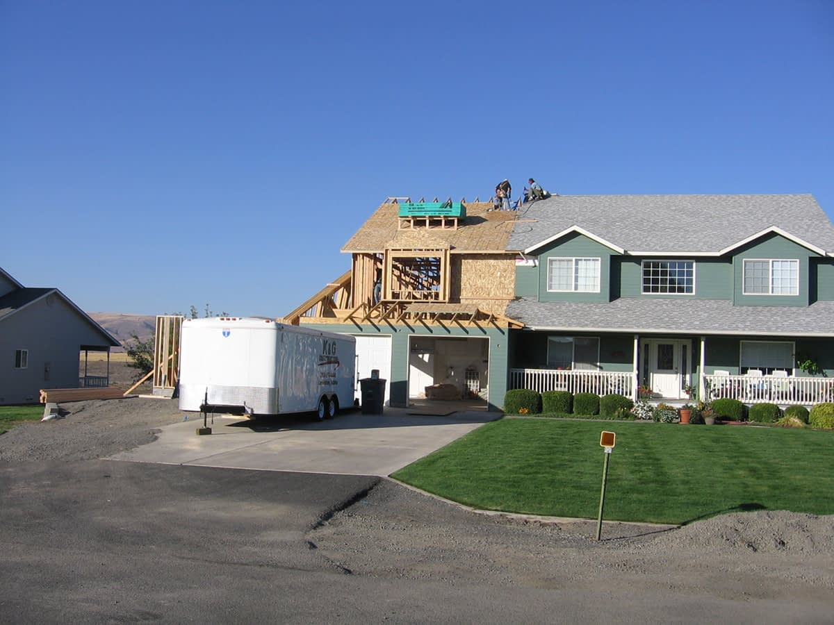 Home Remodel – Addition Project
