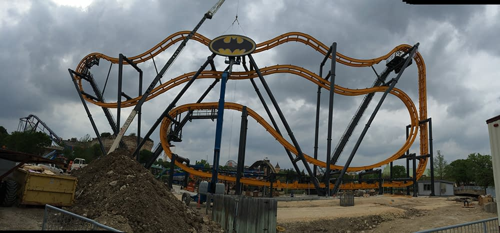 Batman Roller Coaster Project