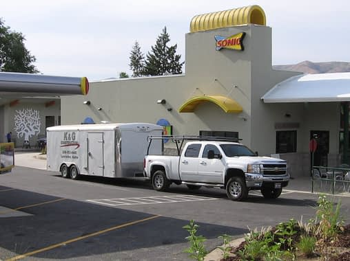 Commercial Stucco – Sonic Drive-In Project