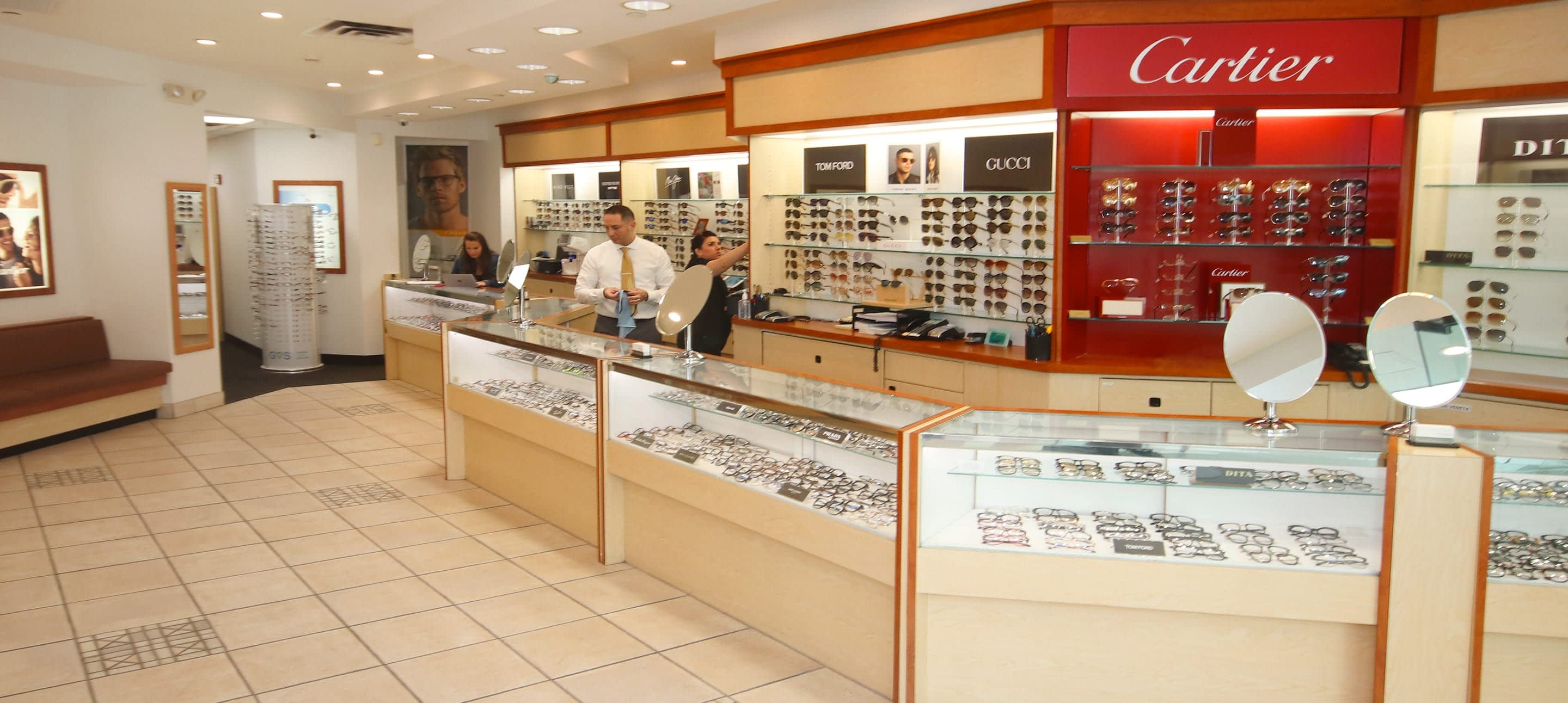 Eyeglasses & Eye Exams, Roosevelt Field Mall - Garden City, NY